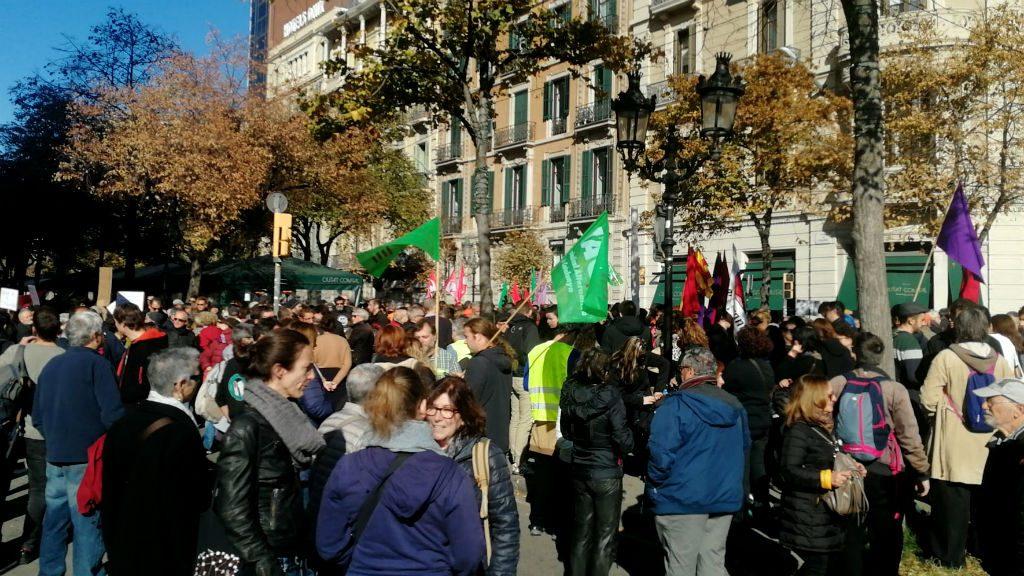 Manifestació llei Aragonès