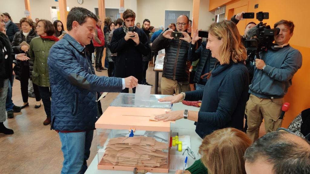 manuel valls vota 10n