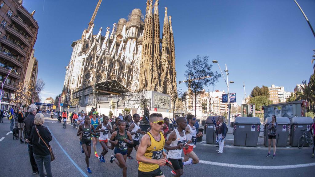 Marató de Barcelona 2020 Sagrada Família