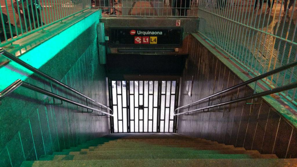 metro urquinaona tallat 9n