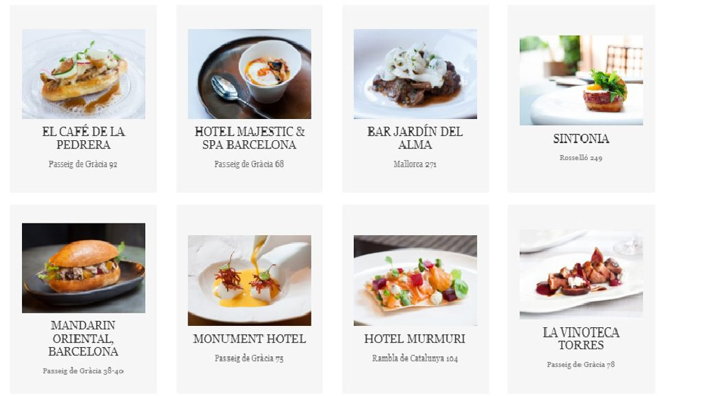 programa gastronomia nit passeig de gràcia 2019