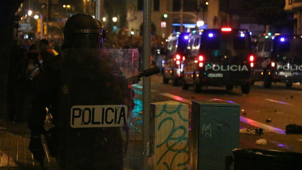 Furgonetes Policia Nacional