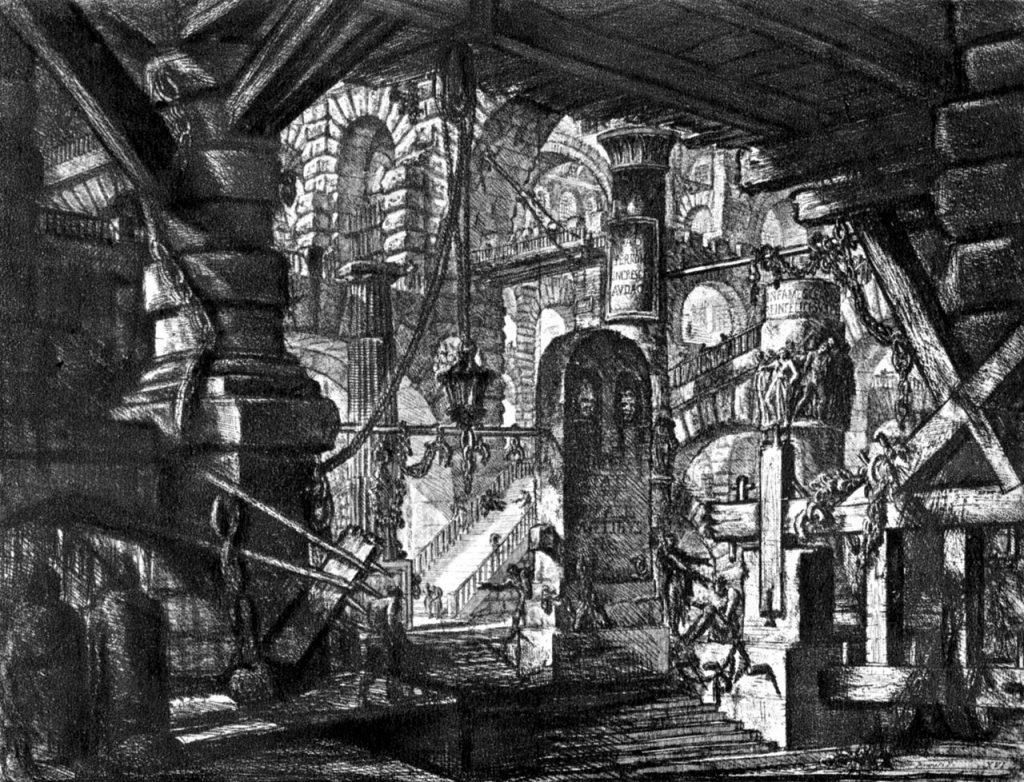 LES PRESONS IMAGINÀRIES G.B Piranesi (cap al 1745)