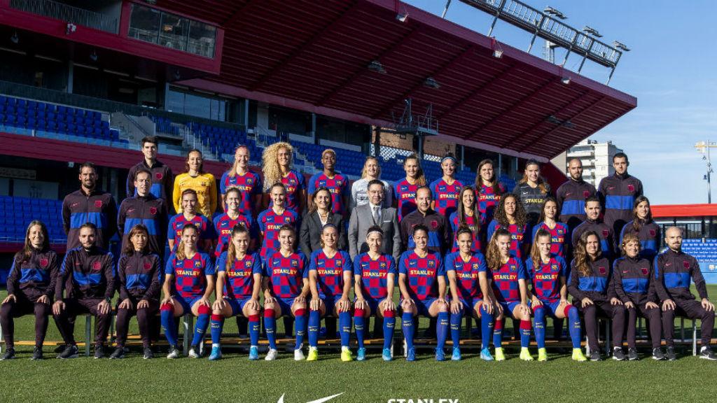 Foto primer equip femeni temporada 2019/20