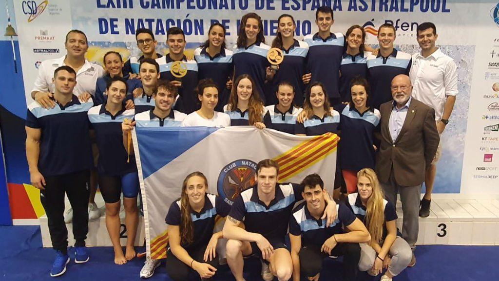 CN Sant Andreu amb idón Muñoz al Campionat d'Espanya de piscina curta