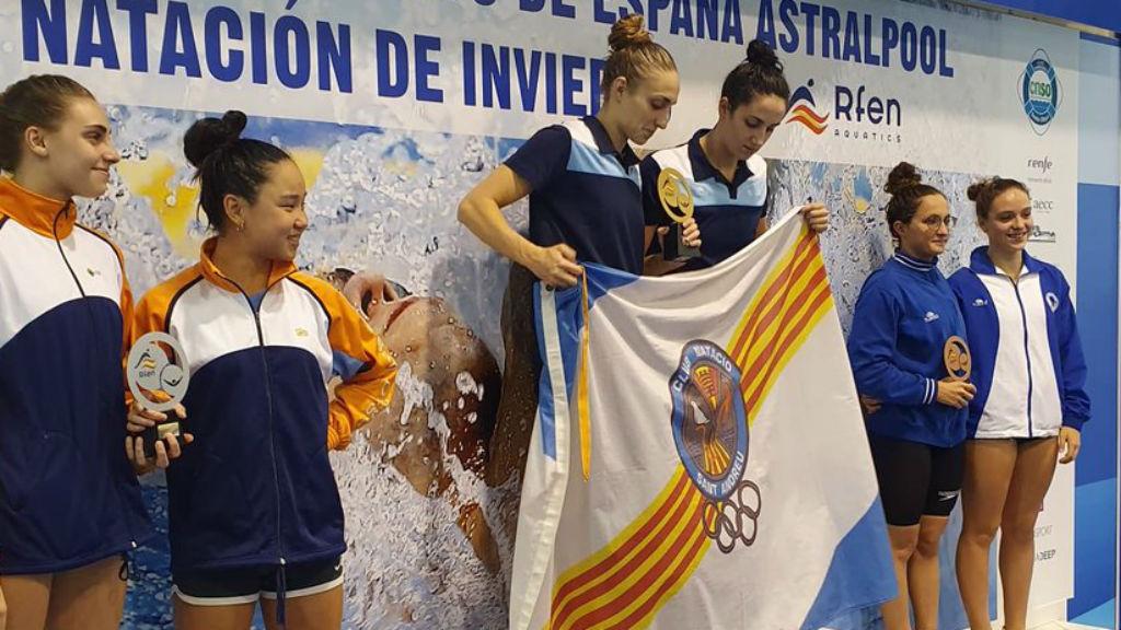 CN Sant Andreu, amb Lidón Muñoz, millor club femení del Campionat d'Espanya