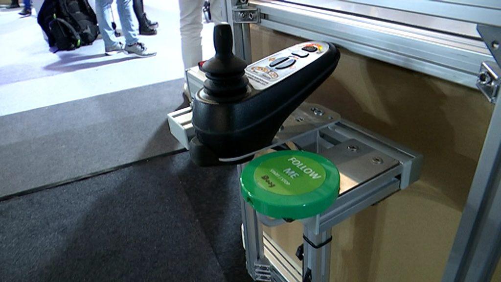 Carret robotitzat a la Smart City Expo Week