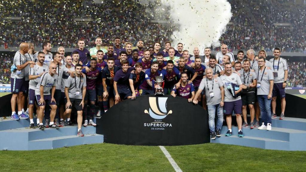 El sorteig de la Supercopa serà el dilluns 11 de novembre