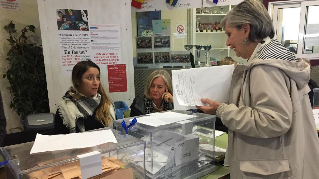 Eleccions generals Institut Jaume Balmes