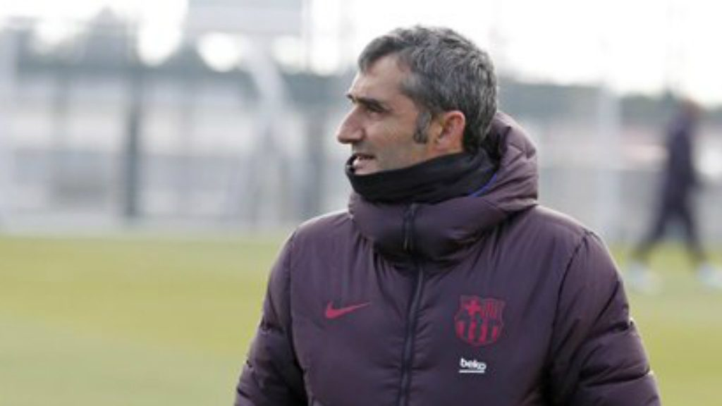 Valverde entrenament