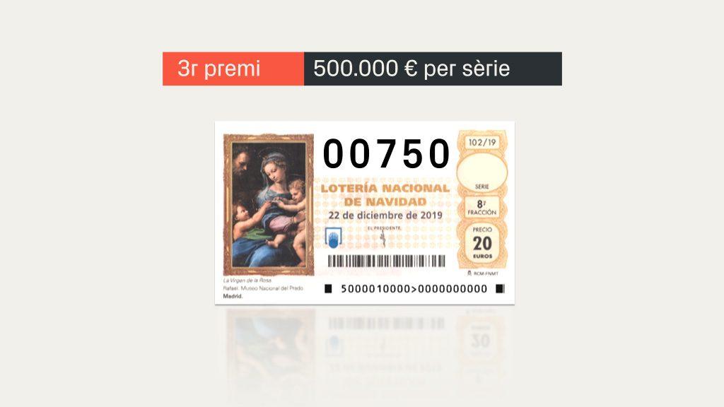 tercer premi loteria gato negro barcelona