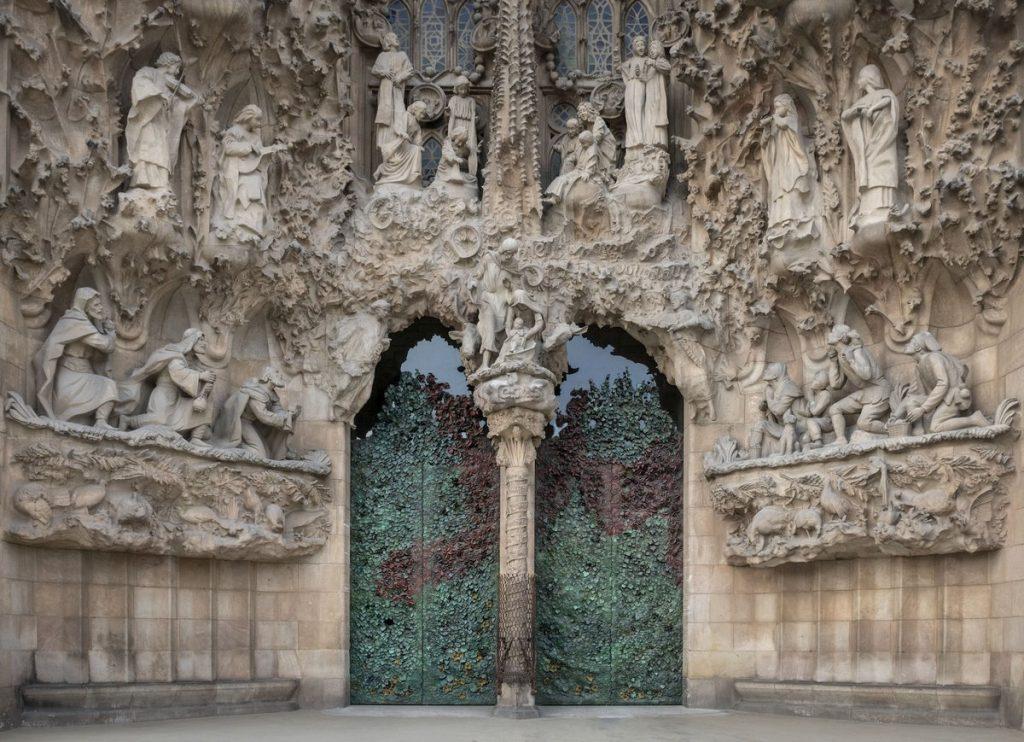 Façana del Naixament de la Basílica de la Sagrada Família