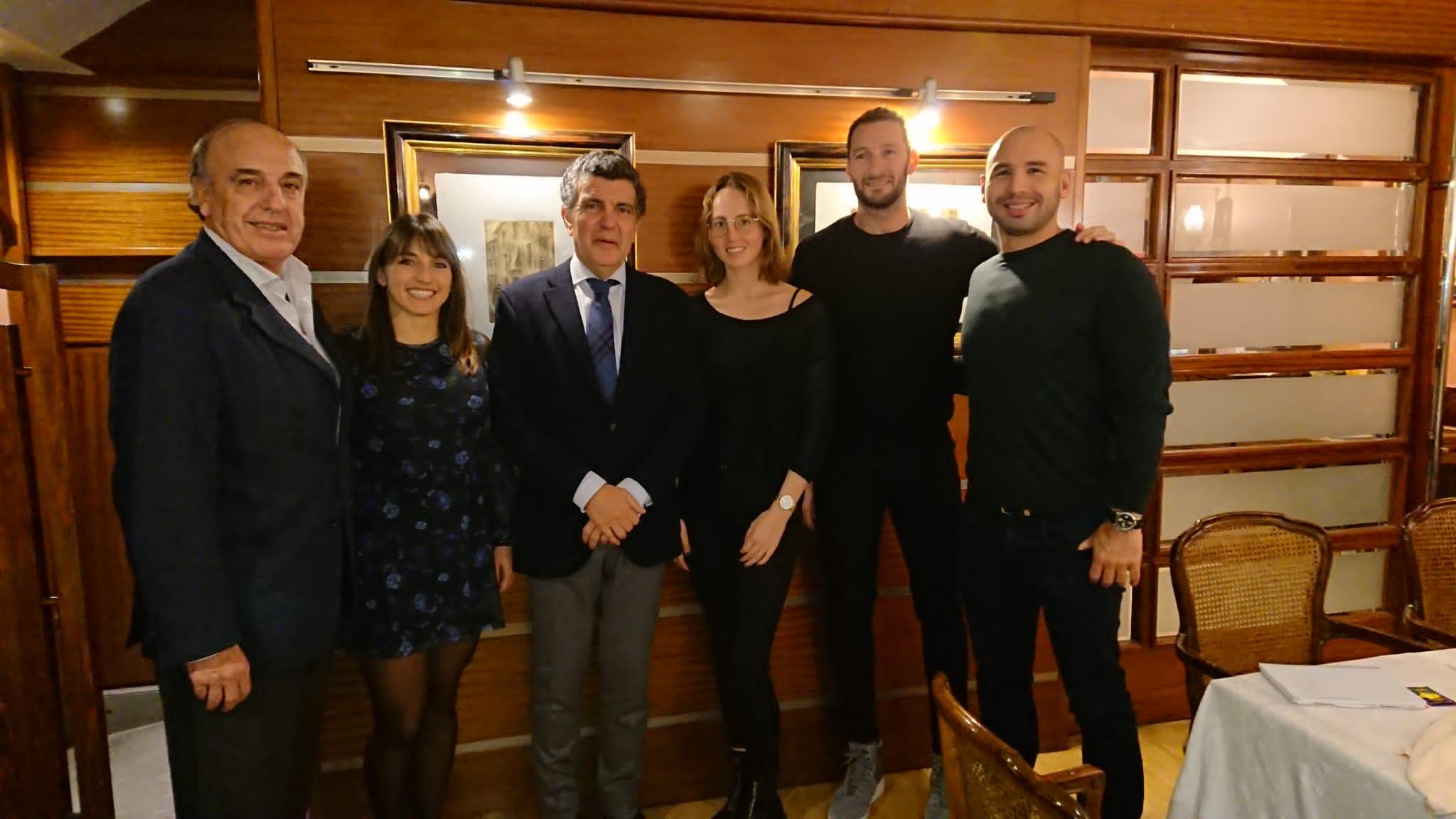 Dinar Nadal premsa Federació Catalana Natació