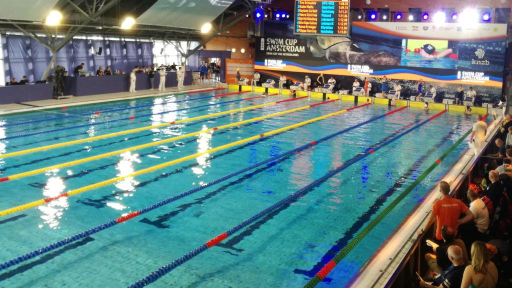 Nedadors del CN Sant Andreu fan mínimes a la Swim Cup Amsterdam