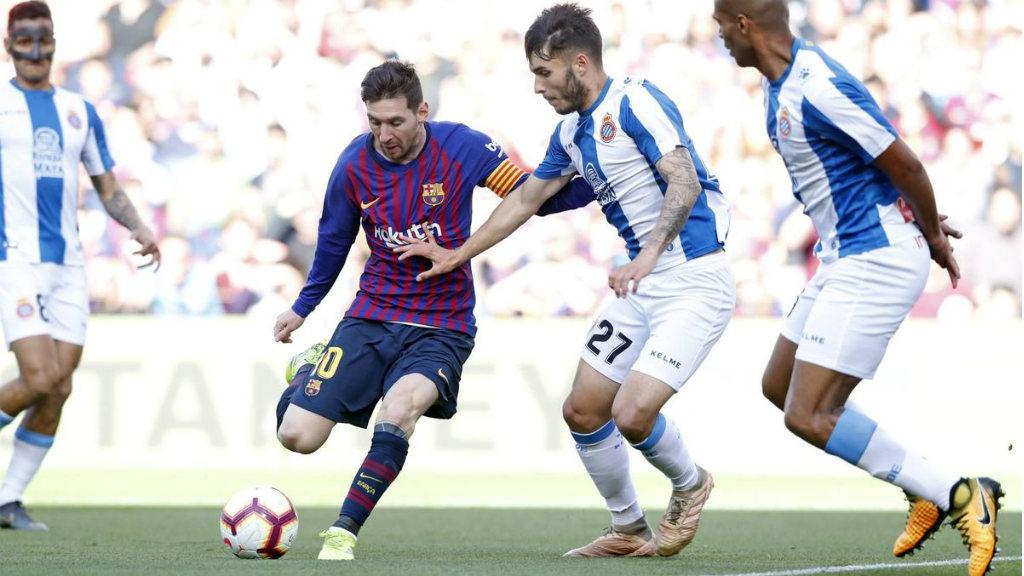 Barça, líder i Espanyol, cuer