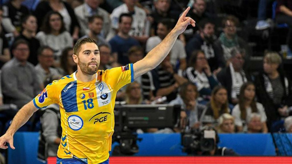 Blaz Janc, jugador del Kielce