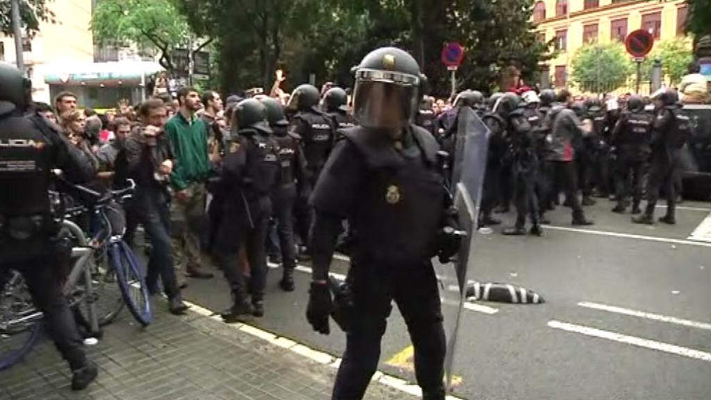 càrregues policials 1-O