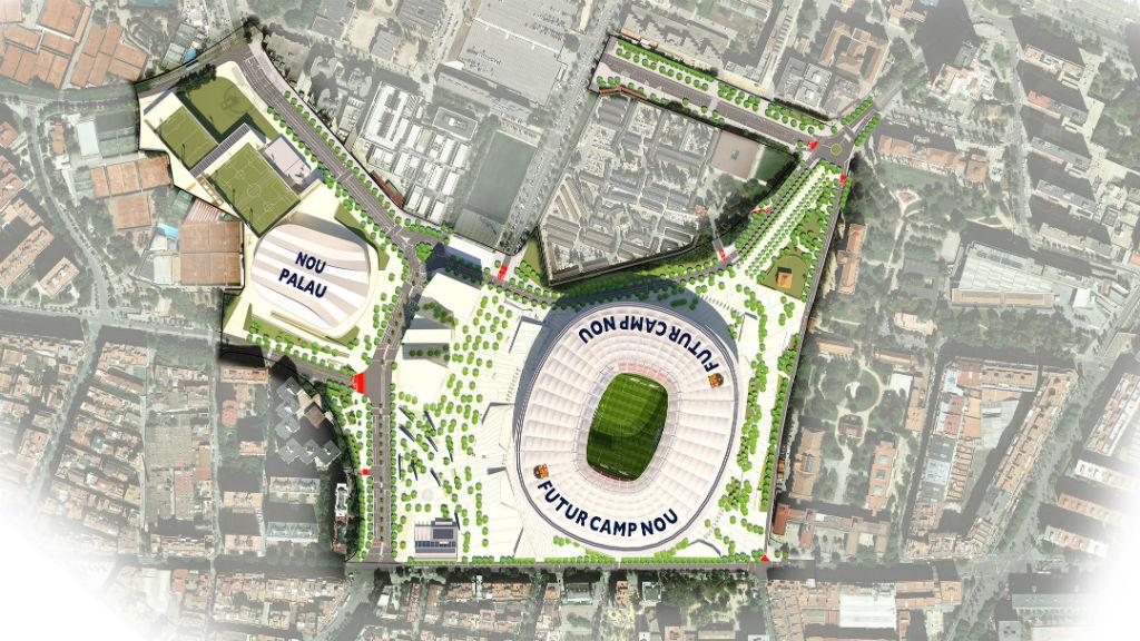 entorns Camp Nou Espai Barça
