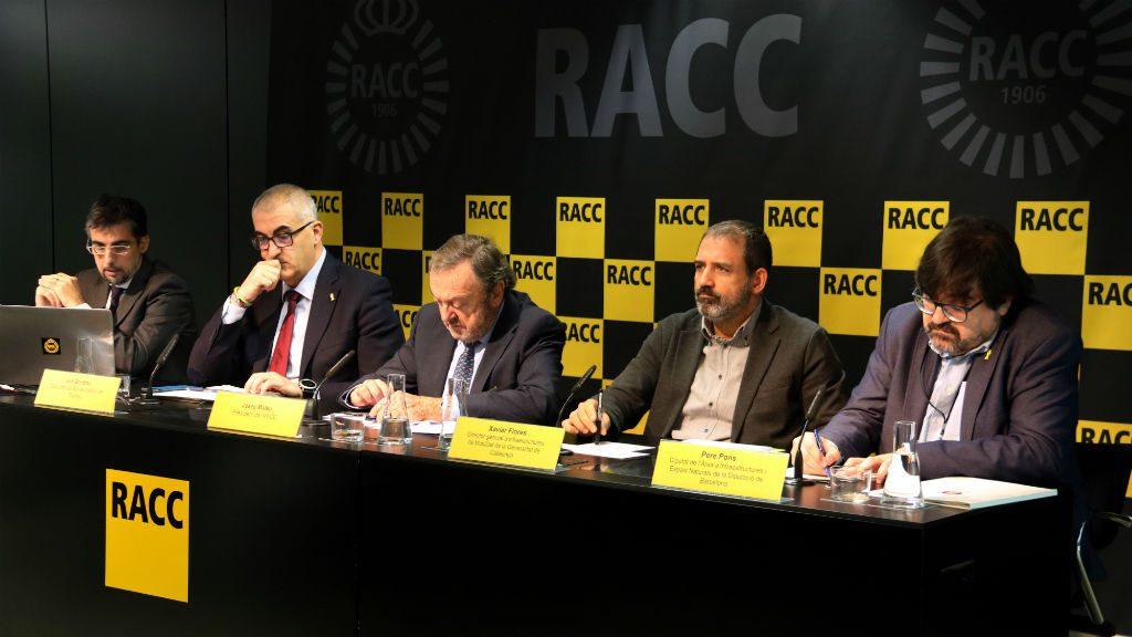 Presentació de l'estudi del RACC sobre accidents de trànsit
