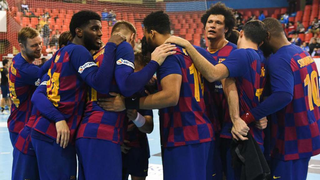 El Barça guanya l'Ademar