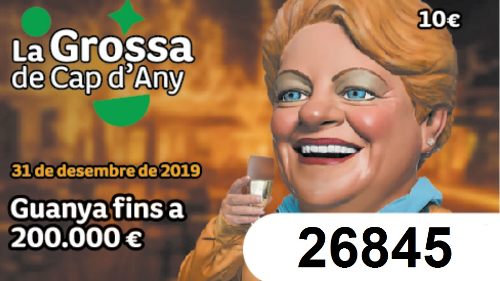 Premis Grossa Cap d'Any 2019