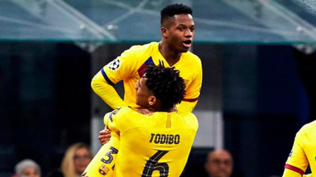 Inter Barça Champions 2019 Ansu Fati