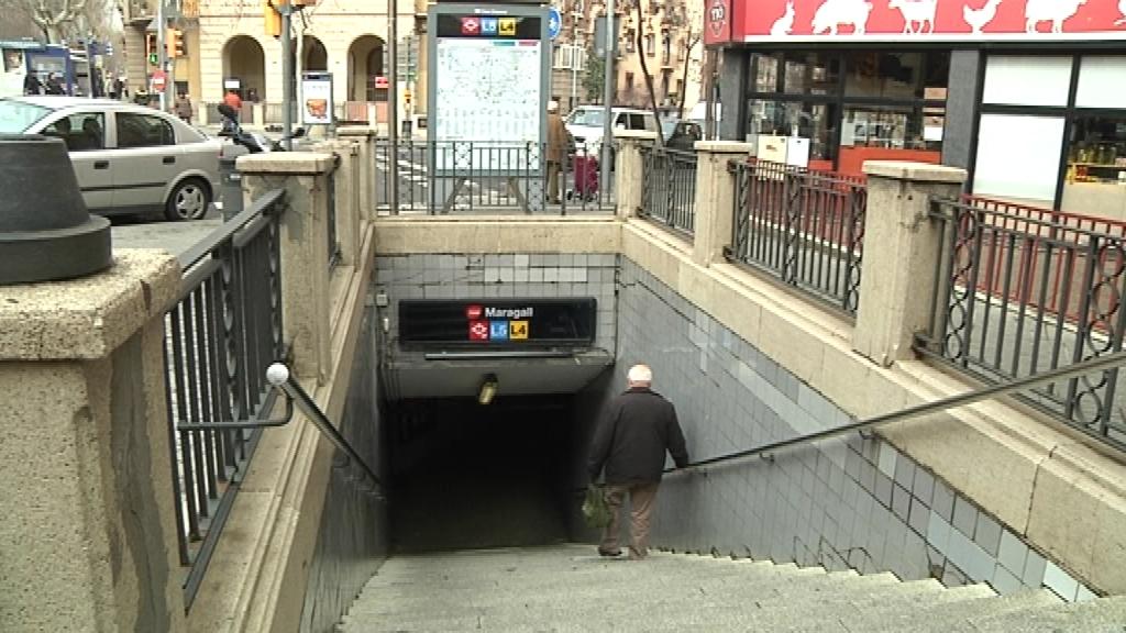 estació de maragall metro