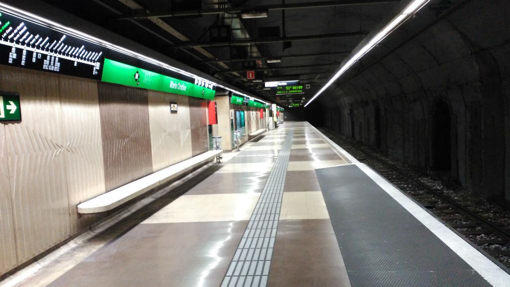 metro maria cristina L3