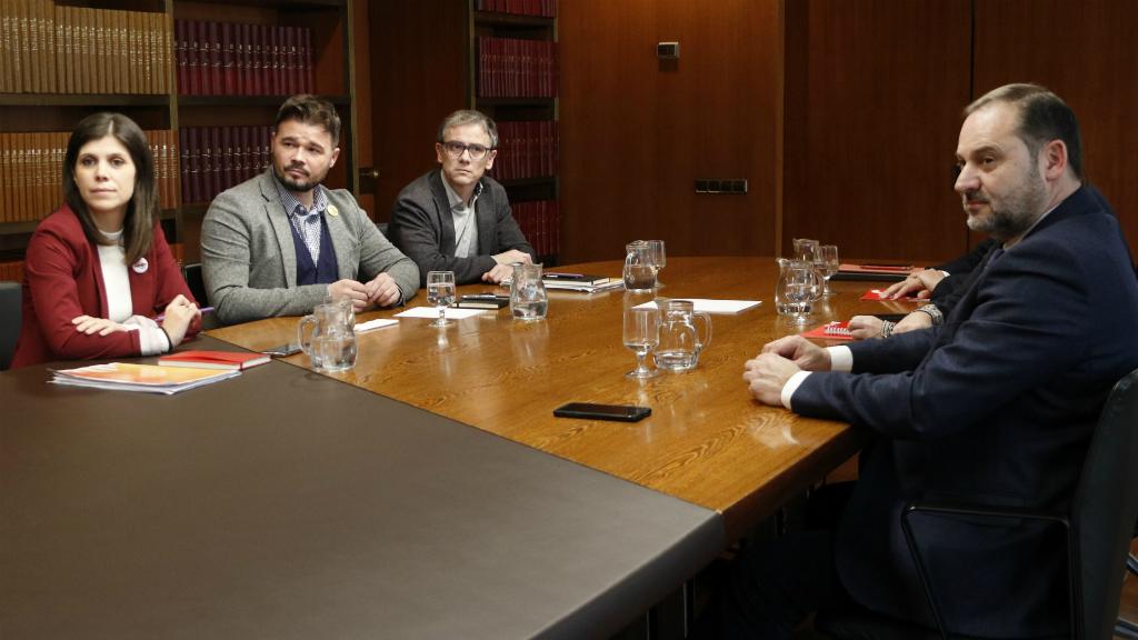 Reunió entre PSOE i ERC a Barcelona