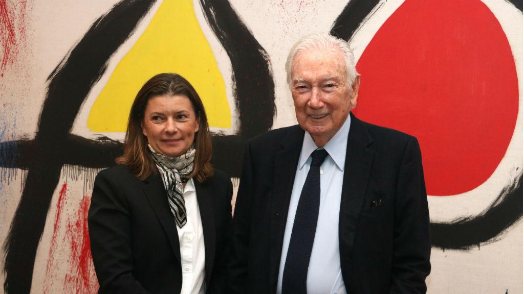 Antoni Vila Casas a la Fundació Miró