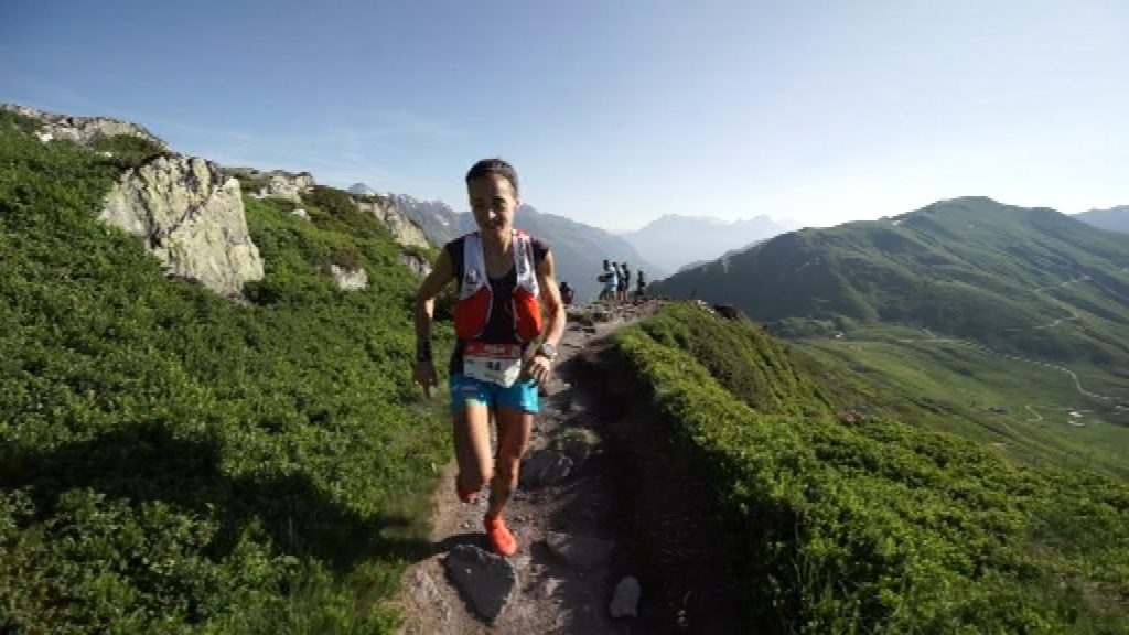 Eli Gordón corredora muntanya trail