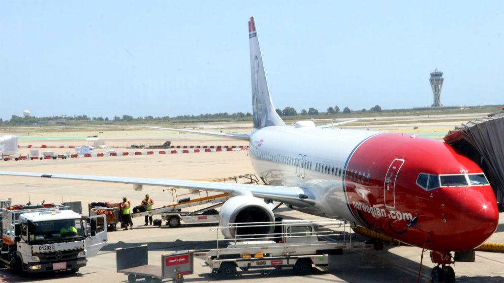 aeroport del prat avió