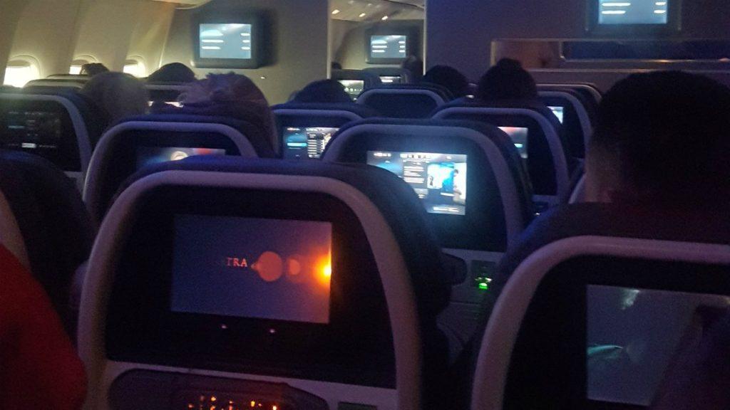 Atrapats interior avió Miami