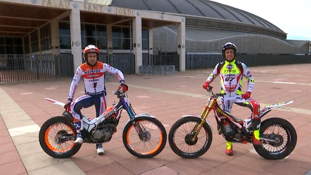 Toni Bou i Adam Raga amb el Palau Sant Jordi per Tiral Indoor