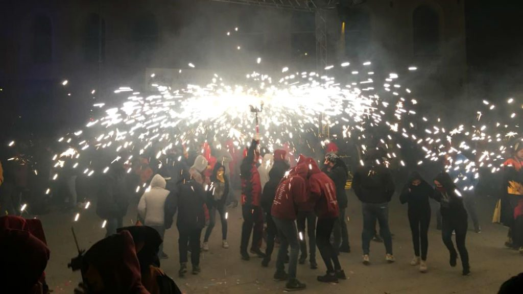 Correfoc a Sant Andreu