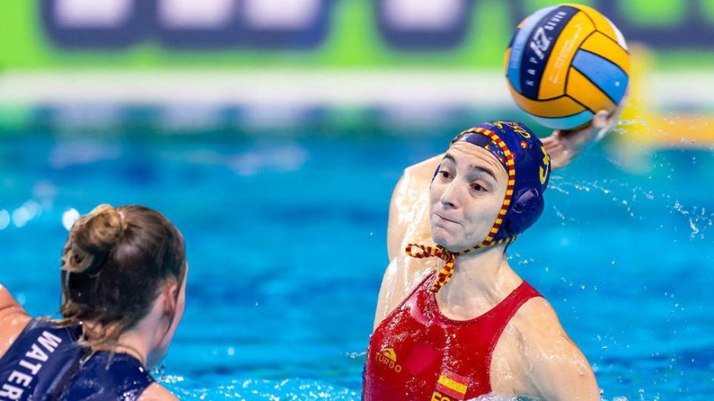 Roser Tarragó, jugadora de la selecció espanyola femenina que jugarà la final
