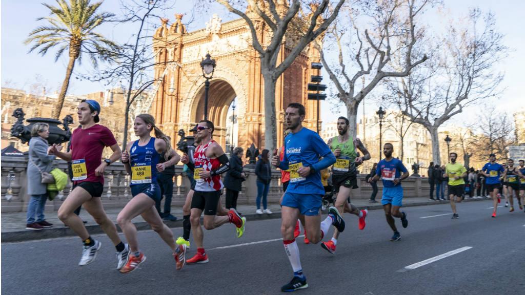 Rècord d'inscripcions a la mitja marató de Barcelona