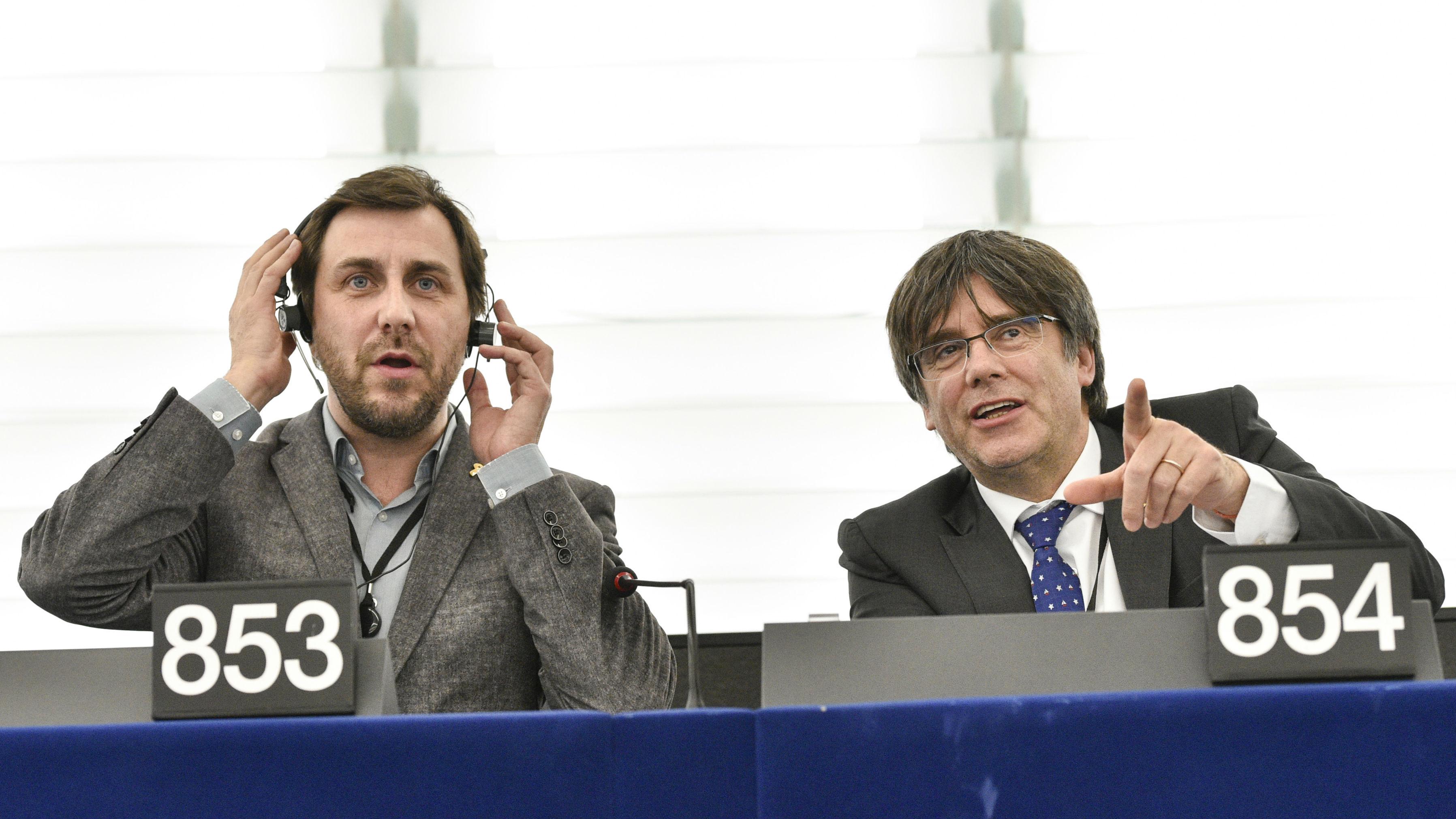 Toni Comín i Carles Puigdemont
