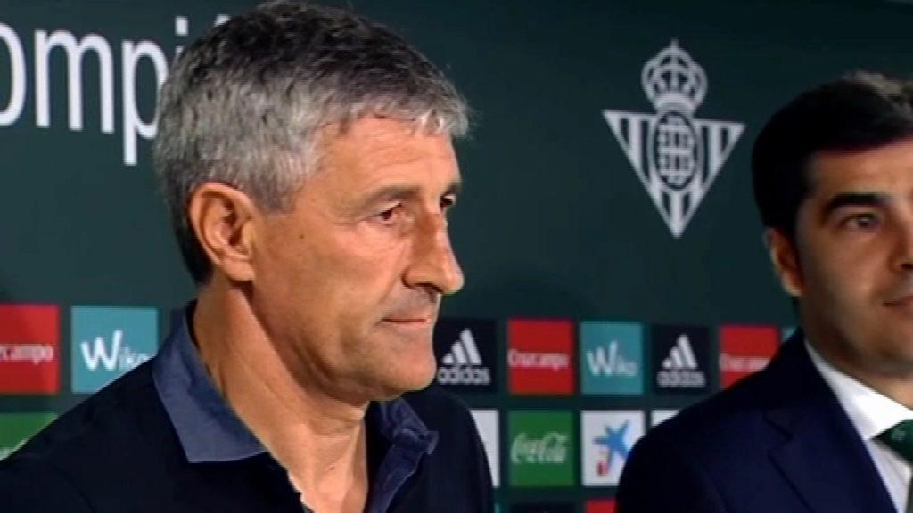 Quique Setién nou entrenador del Barça