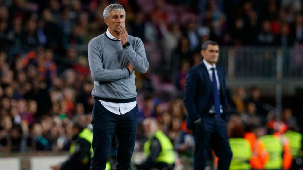 Quique Setién, nou entrenador del Barça