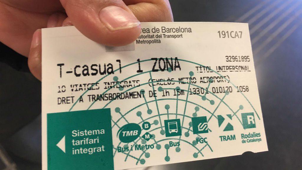 T-Casual targeta