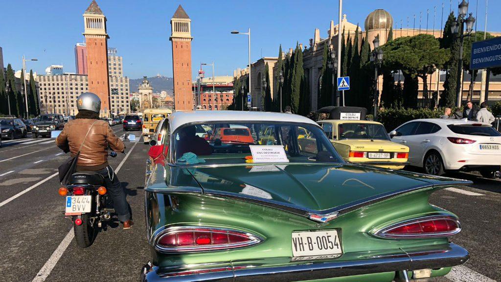 Manifestació de vehicles històrics