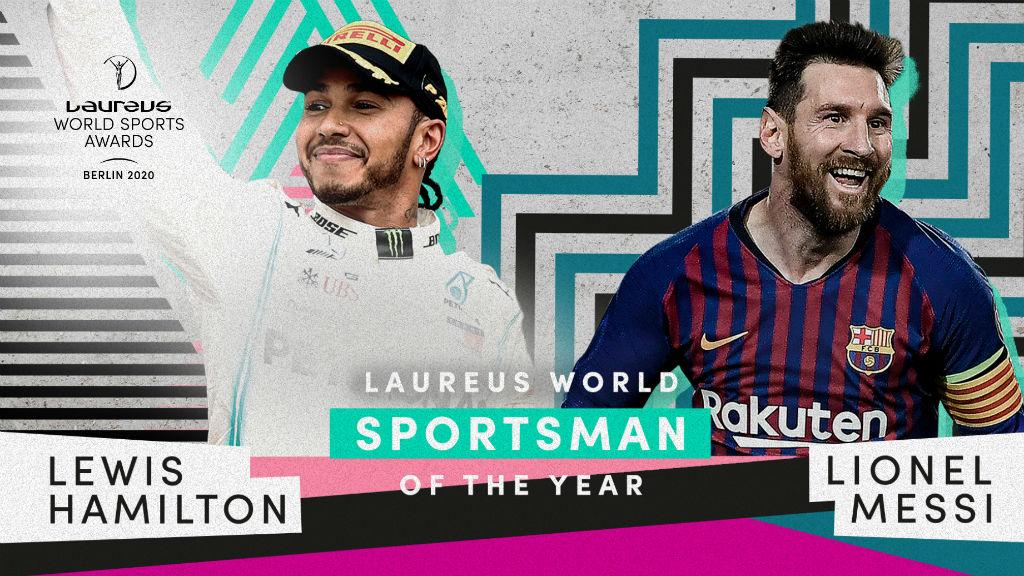 Messi i Hamilton guanyen Laureus