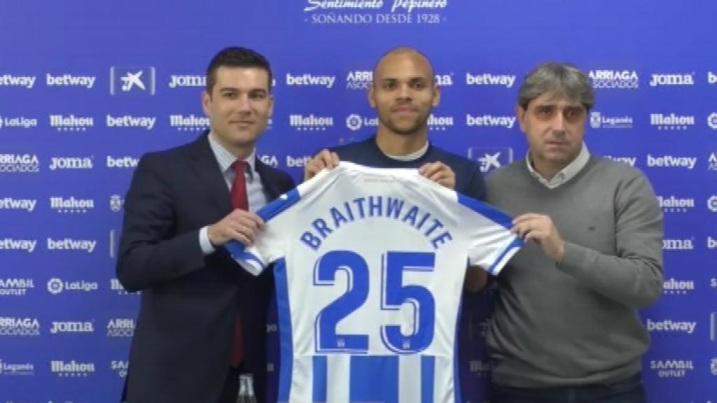 Martin Braithwaite Leganés Barça 2020