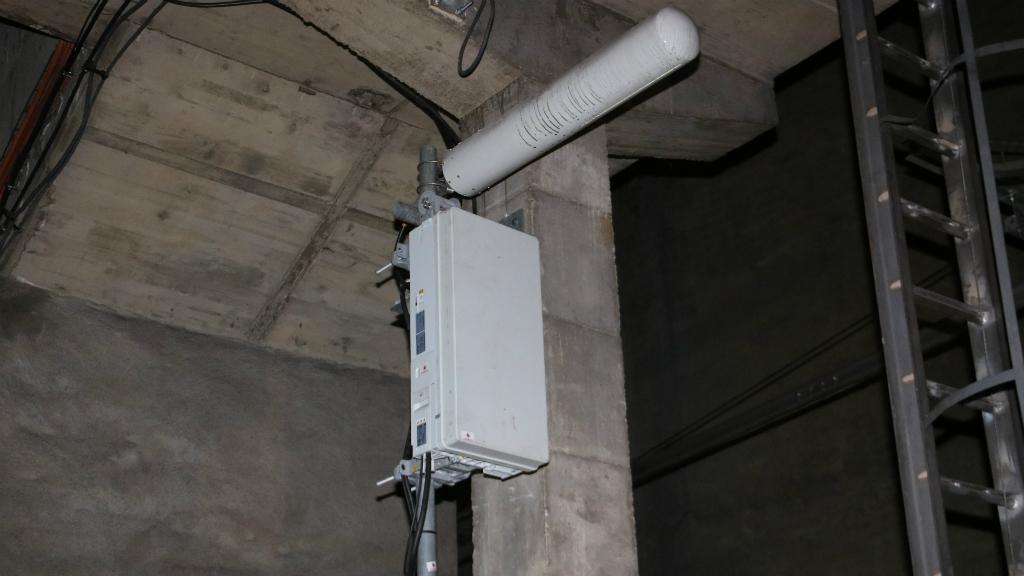 pla detall antena 5G Ferrocarrils