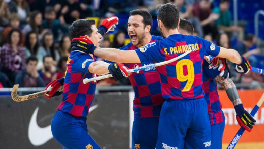 Barça Liceo hoquei patins 2020 Palau Blaugrana