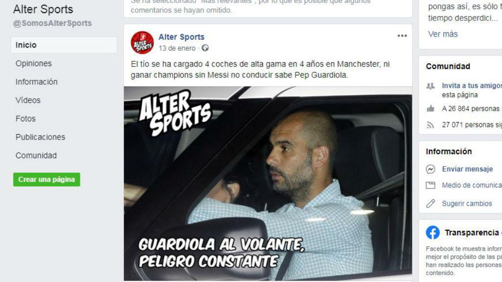 Empresa critica Guardiola