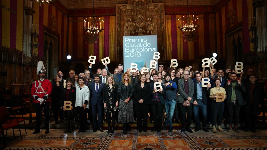 Guardonats dels Premis Ciutat de Barcelona 2019