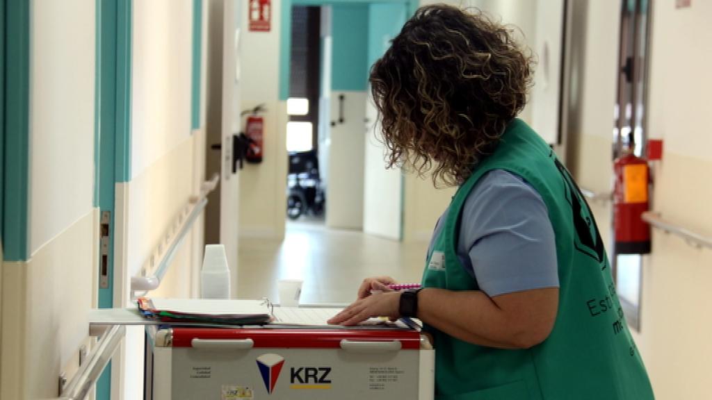 infermera hospital coronavirus