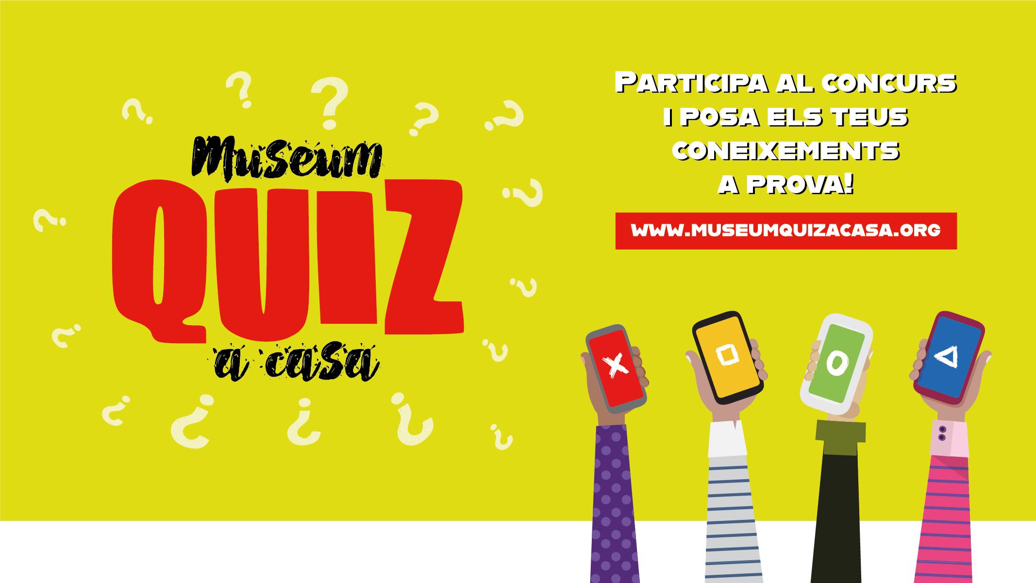 Concurs #MuseumQuizACasa confinament